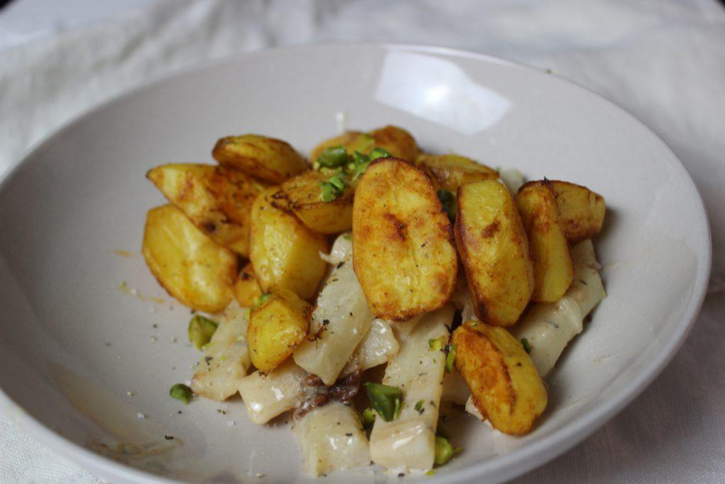 Schwarzwurzel mit Kartoffel