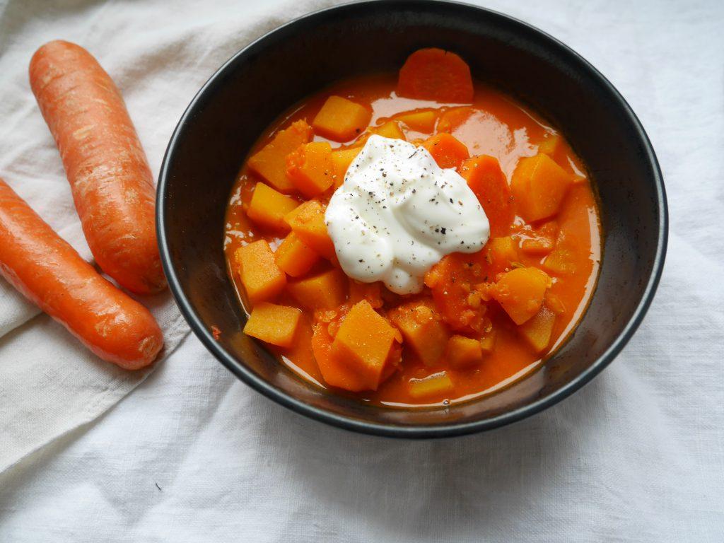 Orangenes Curry