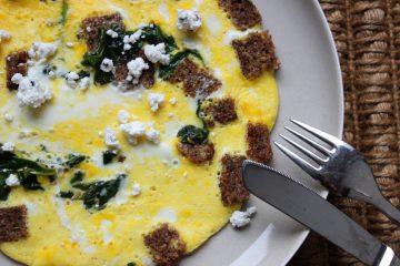 Brot Omelette