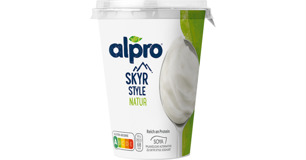 alpro skyr style natur