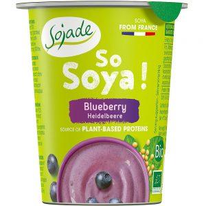 Sojajoghurt Blaubeere