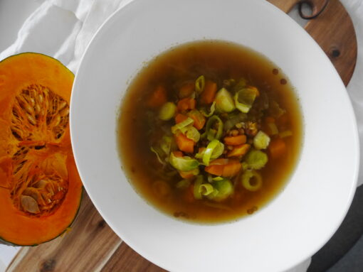 Veganer Herbsteintopf