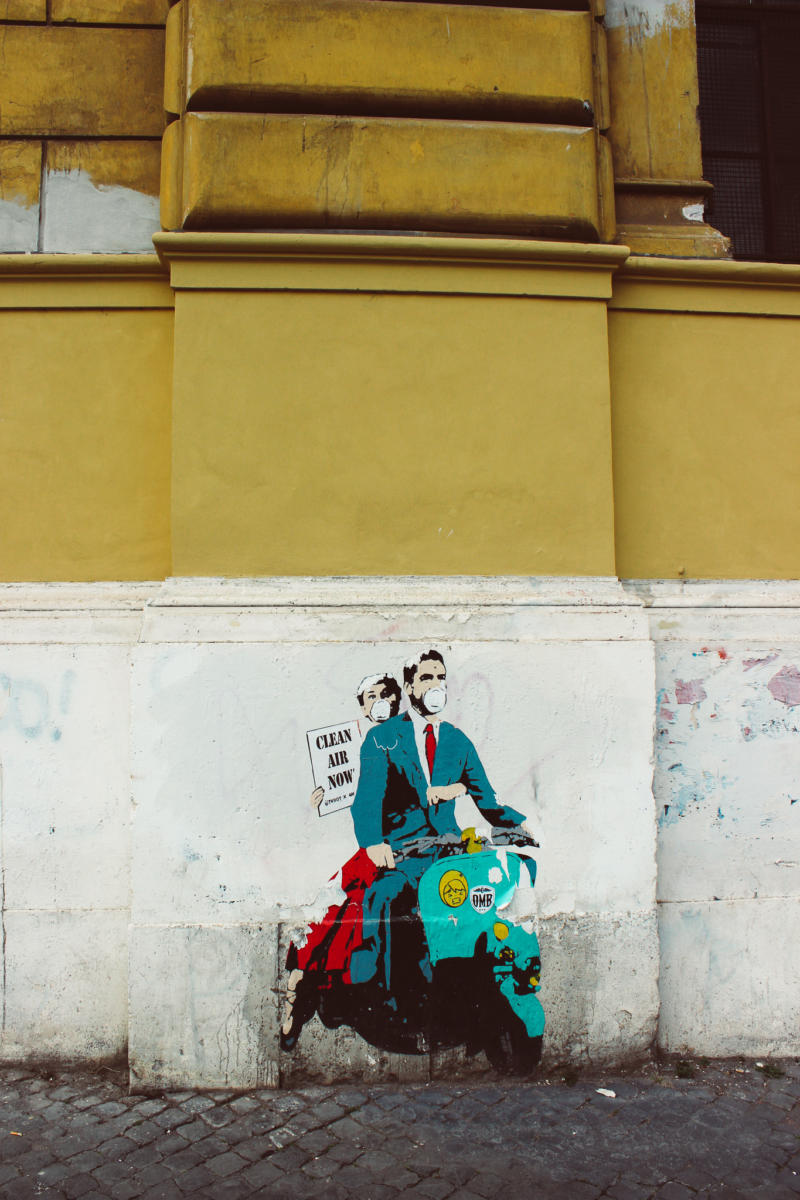 Kritische Streetart
